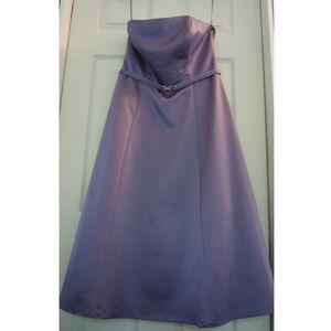 Michelangelo violet party cocktail dress sz 10